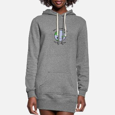 Clean What It Is Keep the planet clean - Women's Hoodie Dress