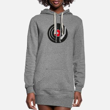 Record record - Women's Hoodie Dress