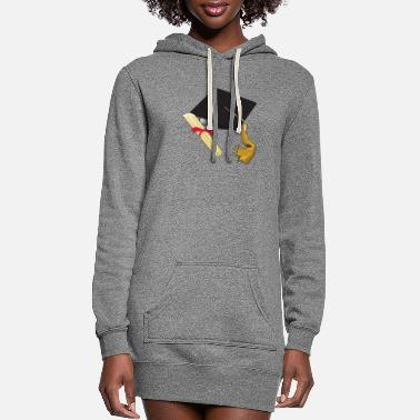 High School Graduate Graduation school kindergarten high school - Women's Hoodie Dress