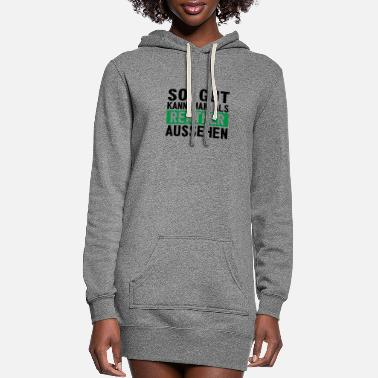 Farewell This is how good a pensioner can look like pension - Women's Hoodie Dress