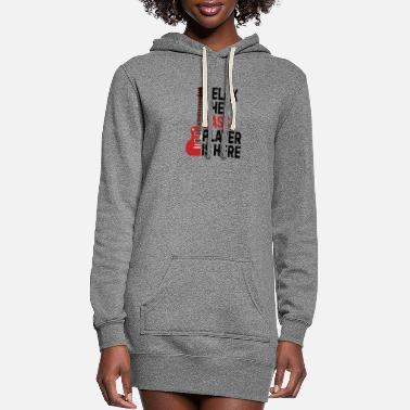 Bass Player Papa the man the myth the guitarist legend - Women's Hoodie Dress