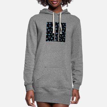 Pattern Abstract pattern texture design new trendy vintage - Women's Hoodie Dress