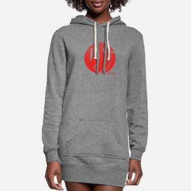 Tlc YTH Logo Fade Red - Women's Hoodie Dress