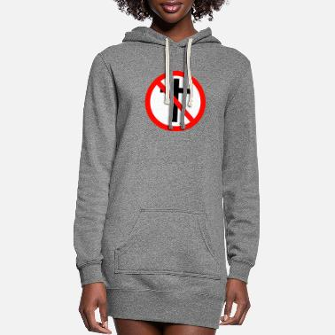 Religion No Religion - Women's Hoodie Dress