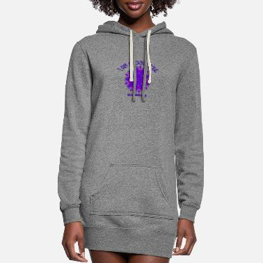 Lovely I AM A LOVING SOUL IN A HUMAN BODY - Women's Hoodie Dress