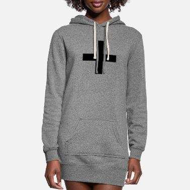 Plus Plus - Women's Hoodie Dress