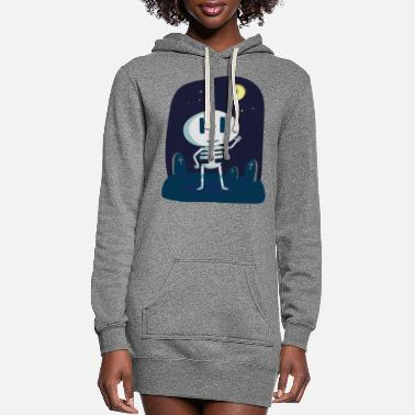 Skeleton skeleton - Women's Hoodie Dress