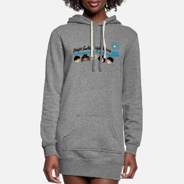 Bright Bright Smiles Bright Futures - Women's Hoodie Dress