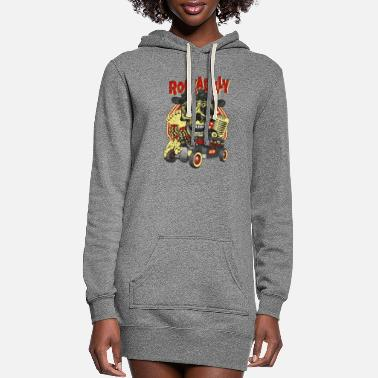 Rockabilly Rockabilly - Women's Hoodie Dress