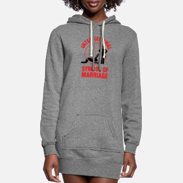 Marriage Marriage - Marriage Symbol - Women's Hoodie Dress
