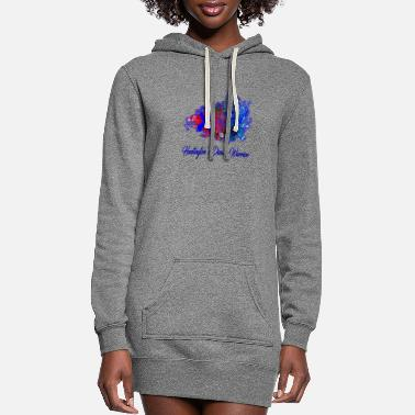 Huntingtons Huntington's Disease - Women's Hoodie Dress