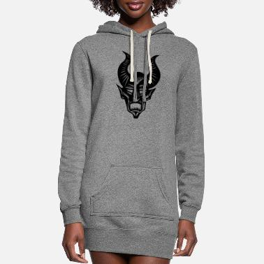 Horns horns - Women's Hoodie Dress