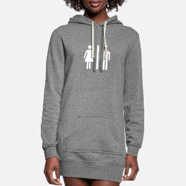 Restroom Alein Restroom - Women's Hoodie Dress