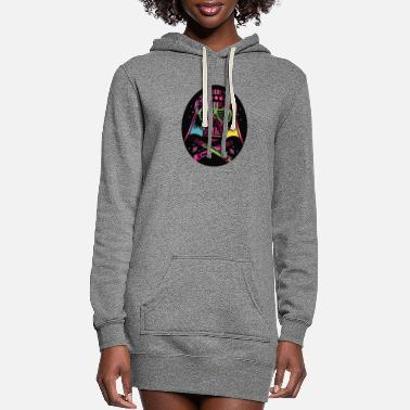 Raver ravers ravers lights - Women's Hoodie Dress