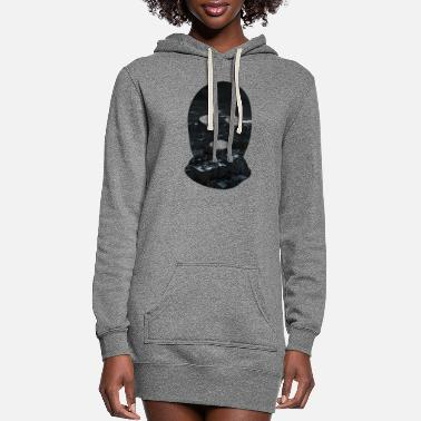 Crook Crime in the City - Women's Hoodie Dress