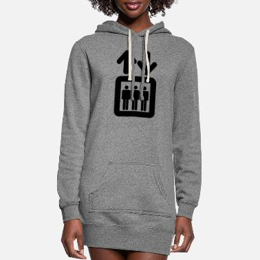 Lift Elevator elevator - Women's Hoodie Dress