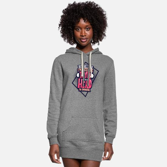Swimmer Hoodies & Sweatshirts - Swimming - Women's Hoodie Dress heather gray