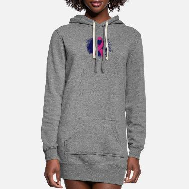 Splatter splatter - Women's Hoodie Dress