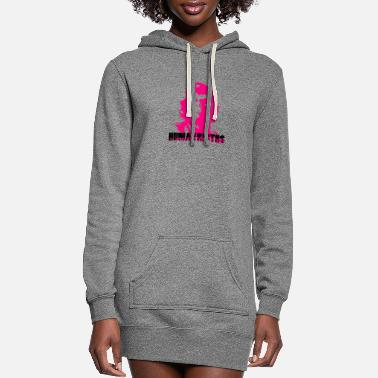 Human Rights - Human Rights - Women's Hoodie Dress