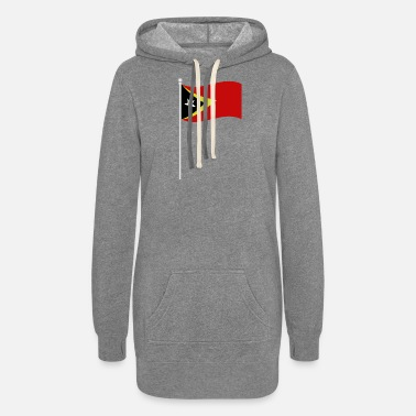 East Frisia flag of east timor - Women's Hoodie Dress