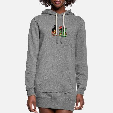Game Over Game Over Man Game Over - Women's Hoodie Dress
