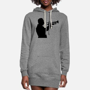 Horns horn - Women's Hoodie Dress