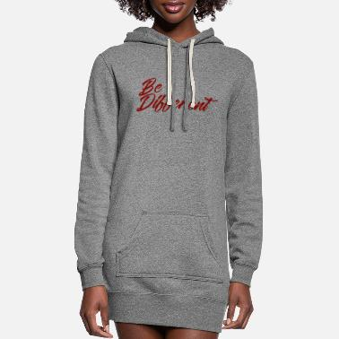 Different be different - Women's Hoodie Dress