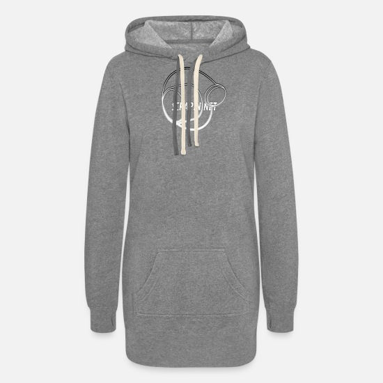 Charger Hoodies & Sweatshirts - Scrapin Turbo Charger - Women's Hoodie Dress heather gray