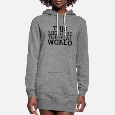 Code Real World | Computer - Women's Hoodie Dress