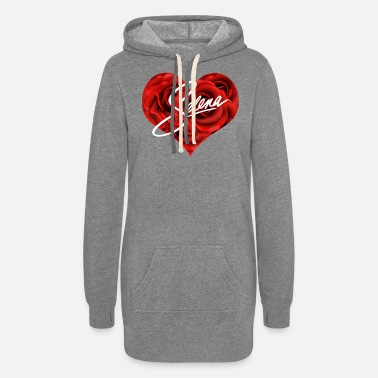 Selena Selena heart - Women's Hoodie Dress
