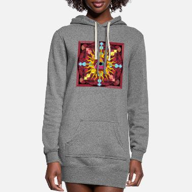 Hipster EYE OF THE MAGI 1 - Women's Hoodie Dress
