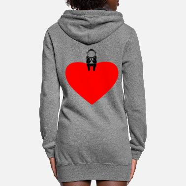 Hurt I love astronauts - Women's Hoodie Dress