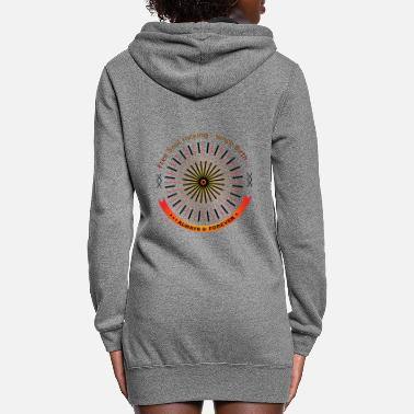 Stamp Free Soul t shirt - Women's Hoodie Dress