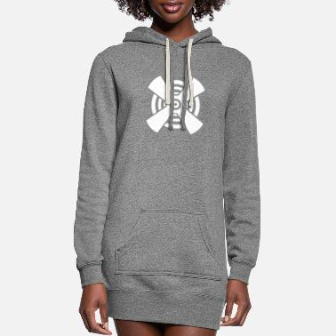 Propeller Propeller - Women's Hoodie Dress