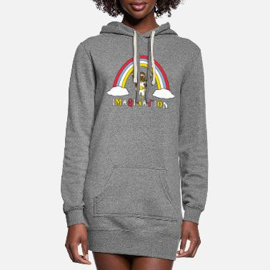 Imagination Imagination - Women's Hoodie Dress