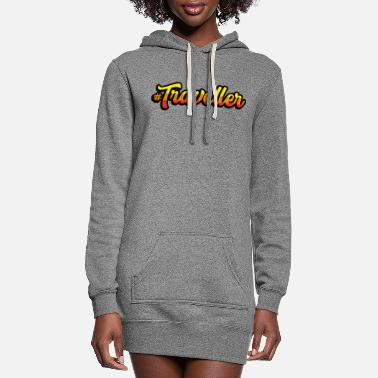 Travel Traveller Travel - Women's Hoodie Dress