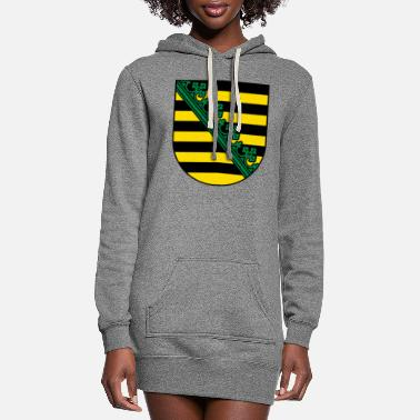 Saxony Saxony Coat Of Arms - Women's Hoodie Dress