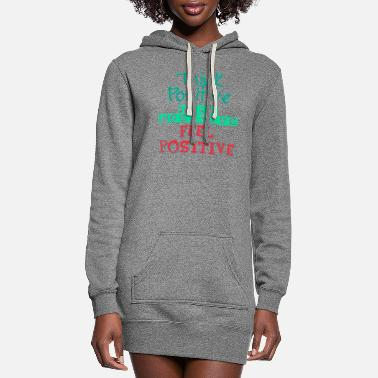 Inspirational Quotes Inspirational Quote - Women's Hoodie Dress