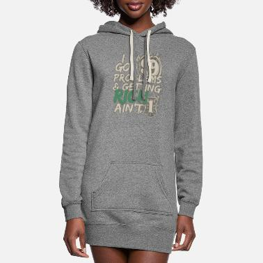 I Got 99 Problems & Getting Rich Ain't 1 - Women's Hoodie Dress