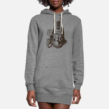 Shiva Yoga Shiva - Women's Hoodie Dress
