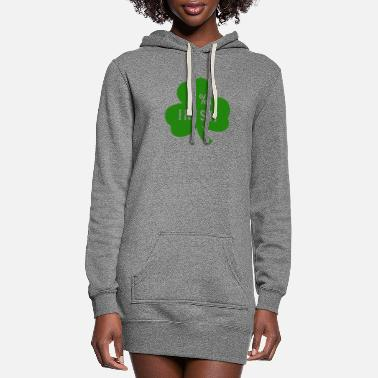 Shamrock 0 % Irish - Women's Hoodie Dress