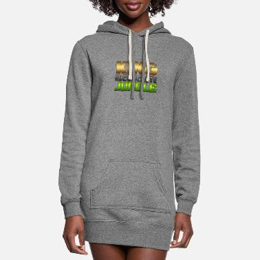 King Of The Concrete Jungle - Women's Hoodie Dress