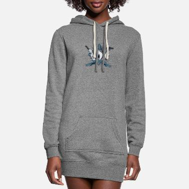 Final Fantasy Viii Succession of Witches (Final Fantasy VIII t-shirt) - Women's Hoodie Dress