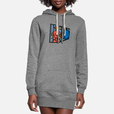 Arrested Arrest - Women's Hoodie Dress
