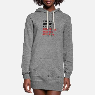 Science Student computer science student - Women's Hoodie Dress