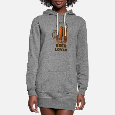 Beer Lover beer lover - Women's Hoodie Dress