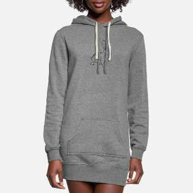 White Rabbit White Rabbit - Women's Hoodie Dress