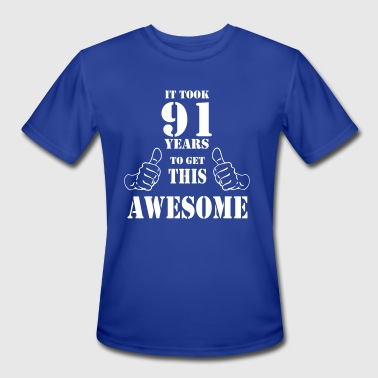 Made In 1926 91st Birthday Get Awesome T Shirt Made in 1926 - Men's Moisture Wicking Performance T-Shirt