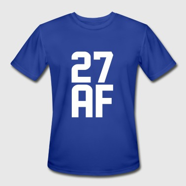 27 Years 27 AF Years Old - Men's Moisture Wicking Performance T-Shirt