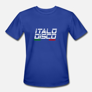 Italo Retro Italo Disco - Men's Sport T-Shirt